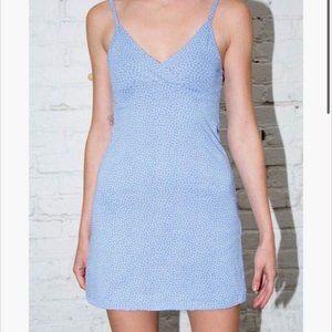 Brandy Melville Blue Floral Amara Dress